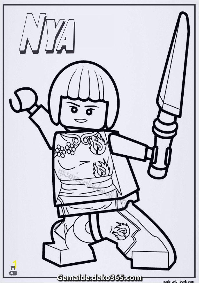 Free Printable Lego Coloring Pages Ausmalbilder Ninjago Lego Nya