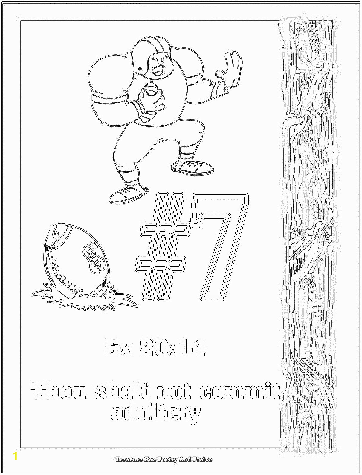 Free Printable Ten Commandments Coloring Pages 100 [ Ten Lepers Coloring Page ]