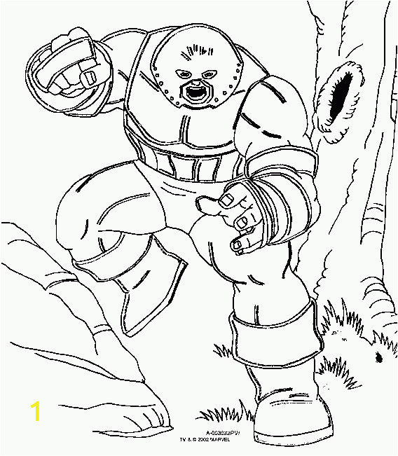 animated coloring pages x men image 0004
