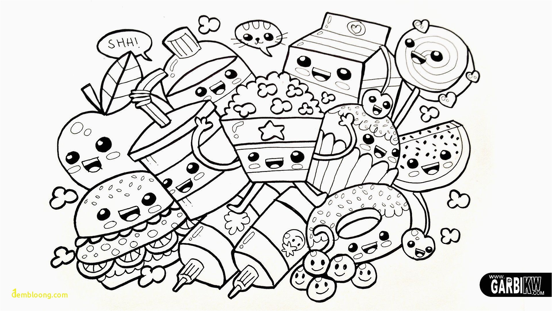popular coloring pages for kids