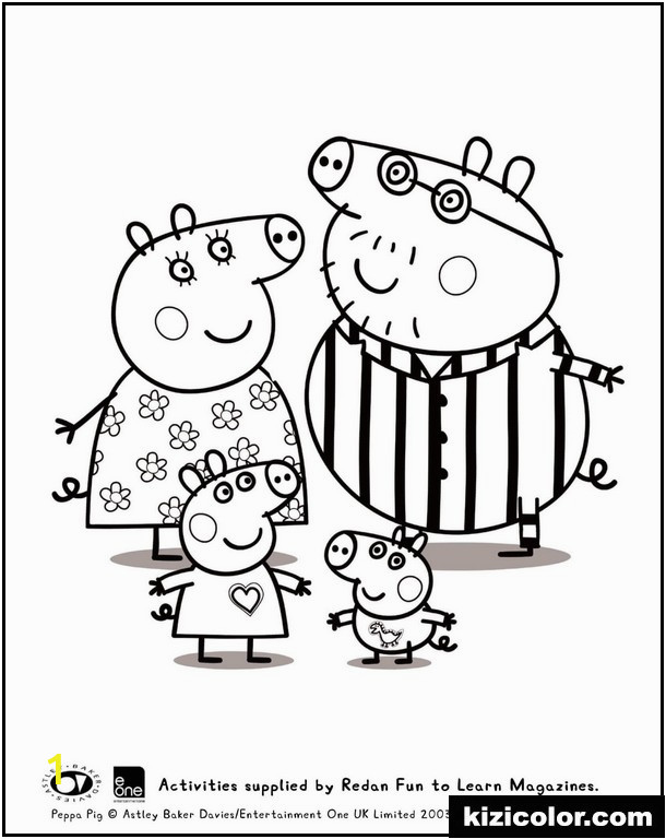 peppa and family pyjama peppa pig