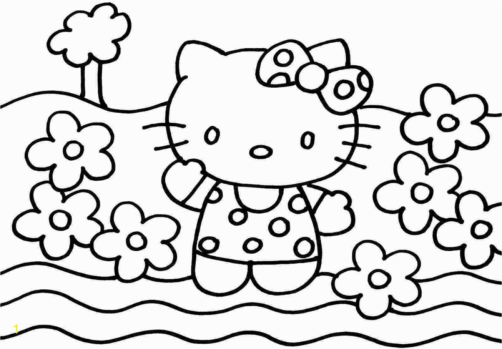 Hello Kitty Coloring Book Pages Hello Kitty Coloring Pages Games