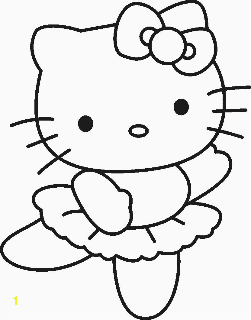 Hello Kitty Coloring Pages to Print Coloring Flowers Hello Kitty In 2020