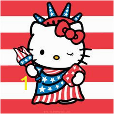 d2da2025d8670d09e8c477e4a36 happy july sanrio hello kitty