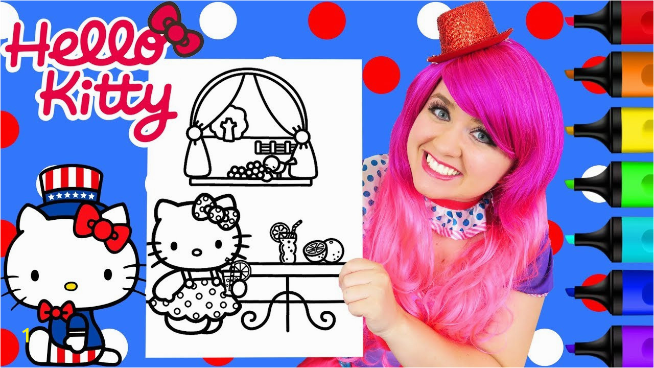 full sanrio pig coloring coloring hello kitty 4th of july sanrio coloring page prismacolor