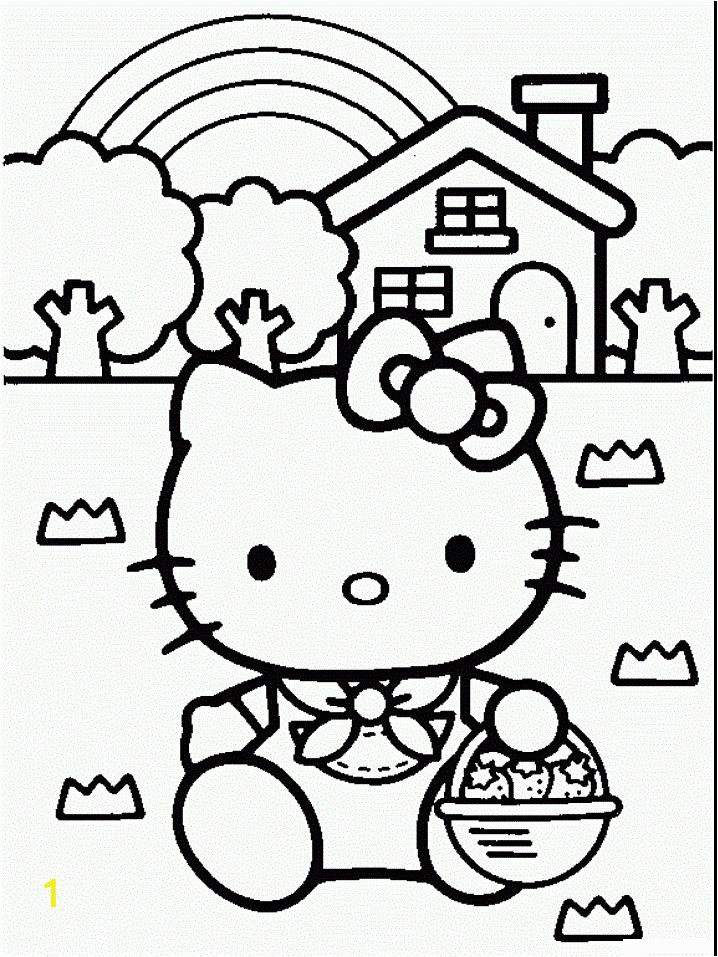 Hello Kitty Giant Coloring Pages Free Printable Hello Kitty Coloring Pages for Kids