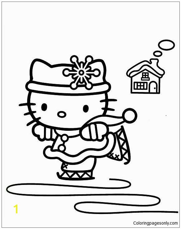 hello kitty ice skating 3 1