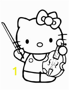 Hello Kitty Instrument Coloring Pages 102 Best Hello Kitty Coloring Pages Images