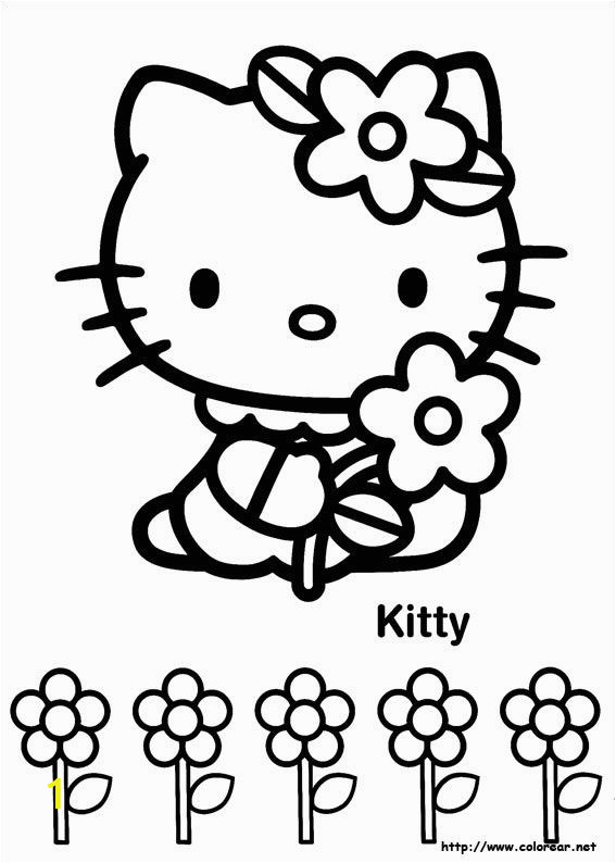 Hello Kitty Mermaid Coloring Pages Free Print Hello Kitty