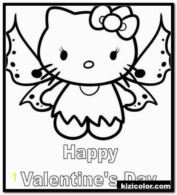 hello kitty angel coloring pages 1