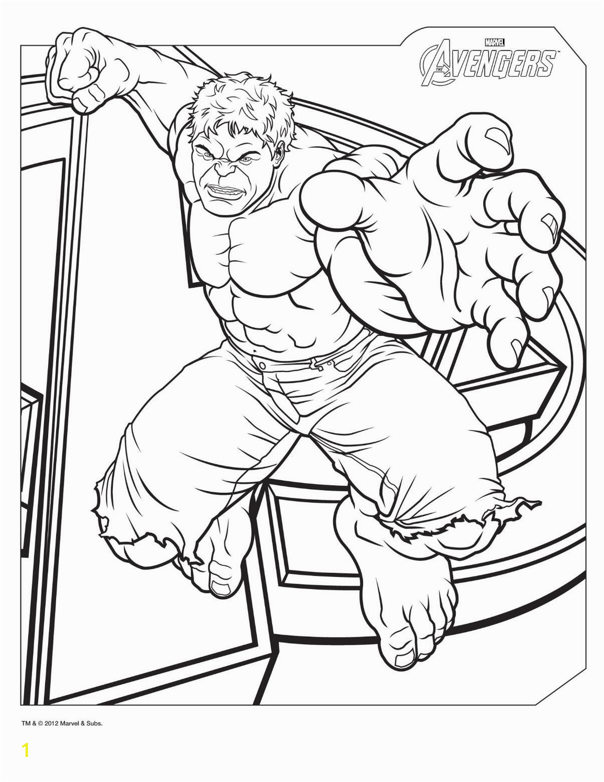 Hulk Coloring Pages to Print Free Free Printable Hulk Coloring Pages for Kids with Images