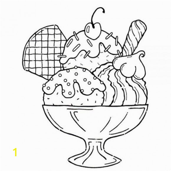Ice Cream Coloring Pages Printable Printable Ice Cream Coloring Pages Di 2020