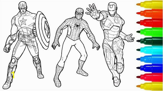 Iron Man and Spiderman Coloring Pages 27 Wonderful Image Of Coloring Pages Spiderman with Images