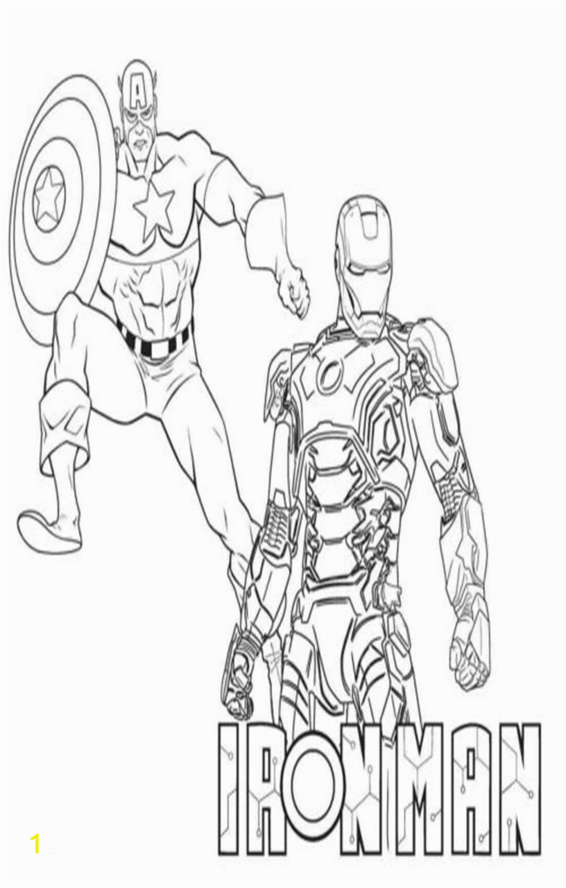 Iron Man Captain America Coloring Pages Printable Captain America Coloring Pages 14 Sheets In 2020