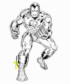 Iron Man Coloring Page for Kindergarten 24 Best Iron Man Images