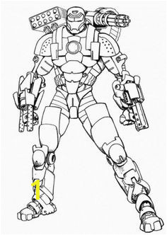 Iron Man Coloring Page for Kindergarten Iron Man Coloring Pages for Kids