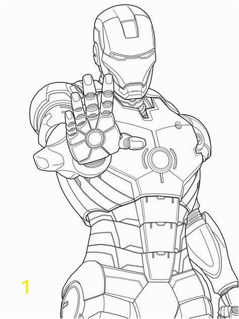 Iron Man Coloring Pages for toddlers Lego Iron Man Coloring Page