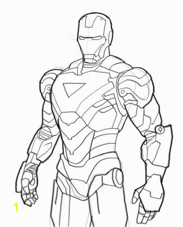 Iron Man Coloring Pages Images Iron Man Coloring Page Printable