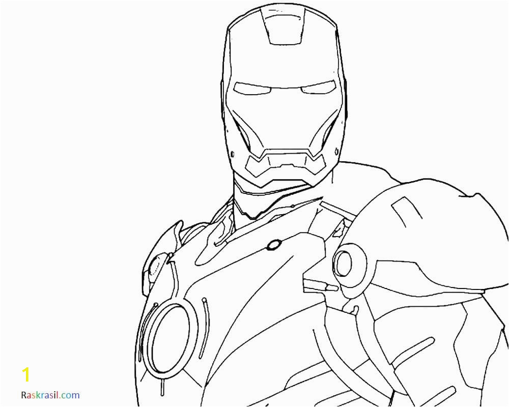 Iron Man Face Coloring Pages Coloring Pages Avengers 110 Pieces Print On the Website