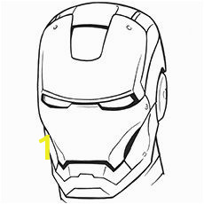 Iron Man Helmet Coloring Pages top 20 Free Printable Iron Man Coloring Pages Line