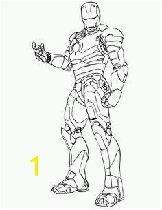 Iron Man Robot Coloring Pages | divyajanani.org
