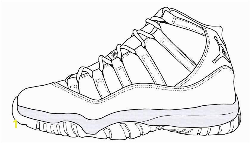 Jordan Shoes Coloring Pages Printable Jordan Shoe Coloring Pages Coloring Home Jeffersonclan