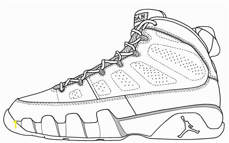 Jordan Shoes Coloring Pages Printable Jordan Shoes Coloring Pages Coloring Home