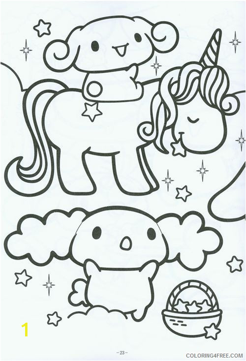 kawaii coloring pages printable Coloring4free
