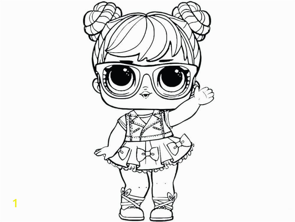 lol surprise doll coloring pages printable | divyajanani