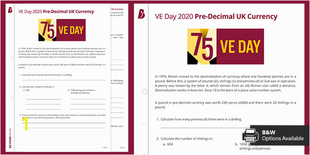 T M VE Day2020 PreDecimal UK Currency ver 5