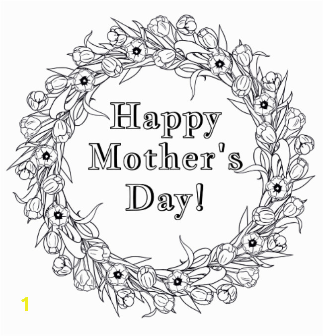 free happy mothers day coloring pages 2020 4