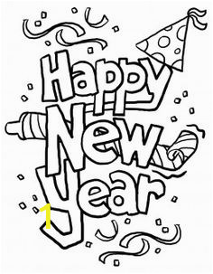 7ea87b2367a206c8d2bdcf7a711b17a1 new years eve coloring pages for kids