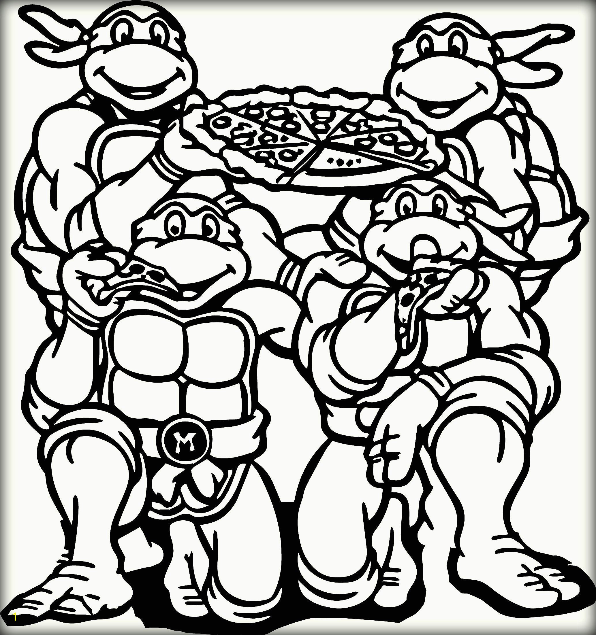 Ninja Turtles Coloring Pages Printable 32 Ninja Turtle Coloring Page In 2020 with Images