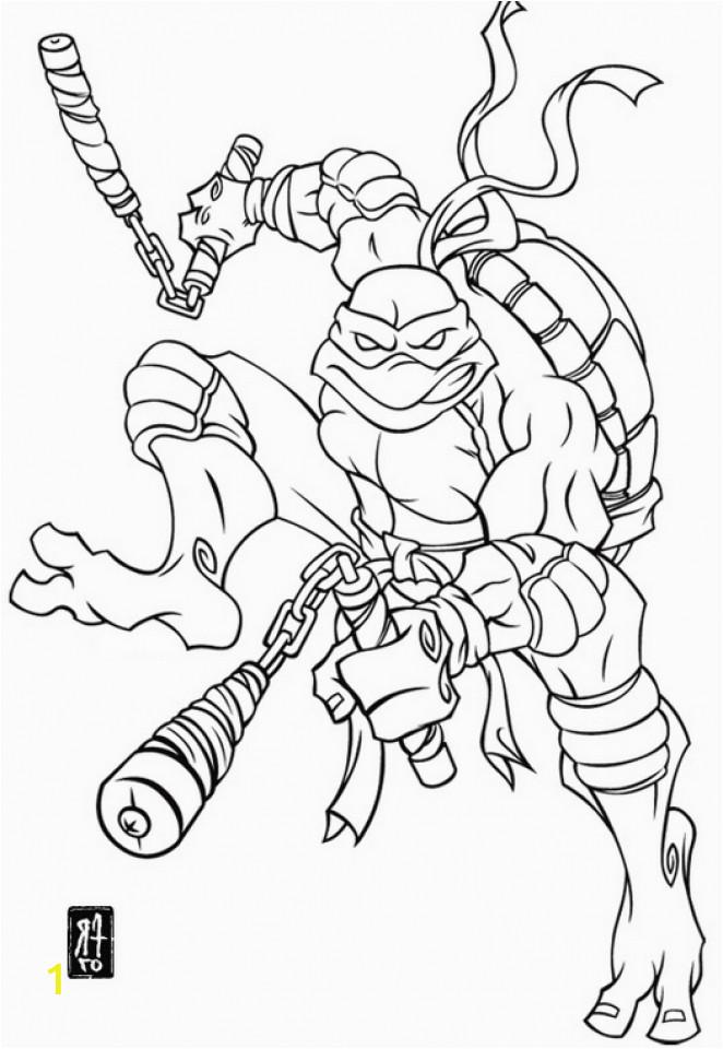 michelangelo teenage mutant ninja turtles coloring pages