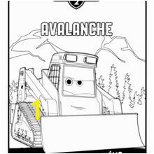 avalanche planes 2 coloring page tpr