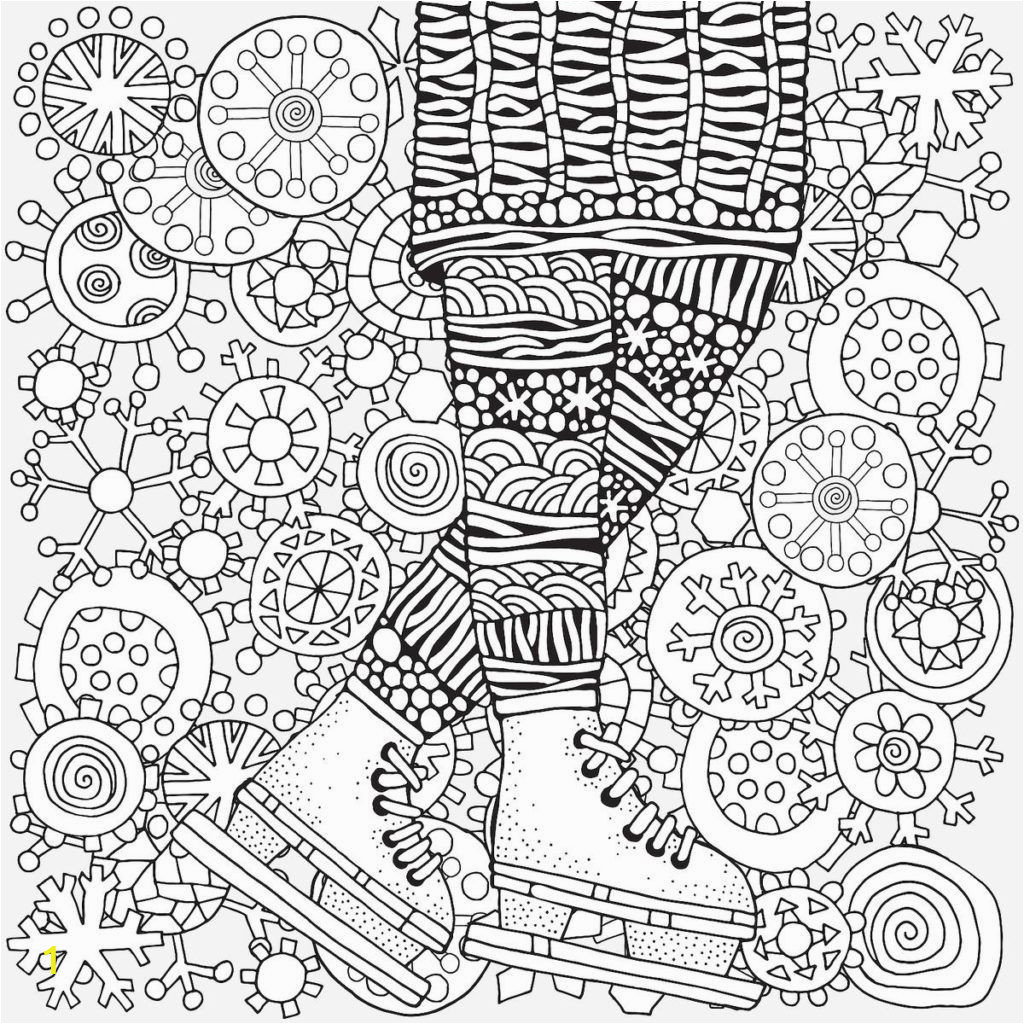 Printable Christmas Coloring Pages for Adults Winter Coloring Pages