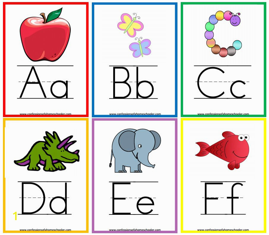 confessions of a homeschooler printable alphabet flash cards f3df78c17b6bce30c