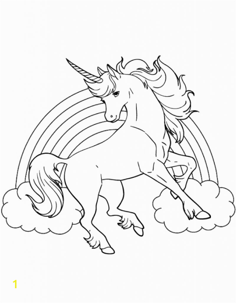 Printable Coloring Pages Of A Unicorn Best Printable Coloring Sheet Unicorn for Kids Con
