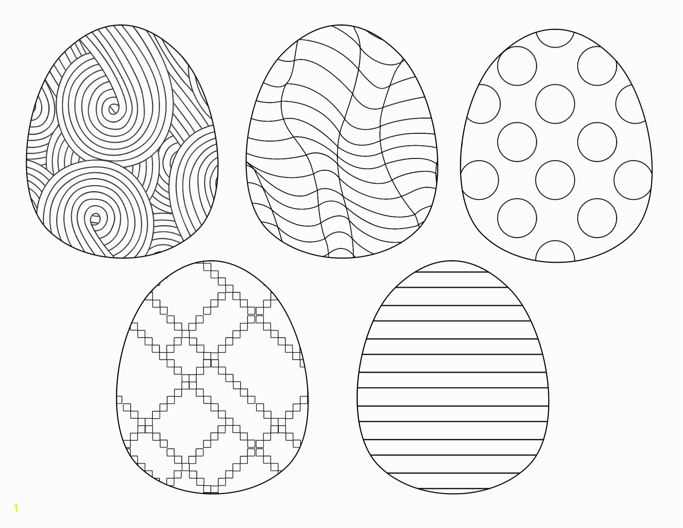Happy Easter Coloring Page 2