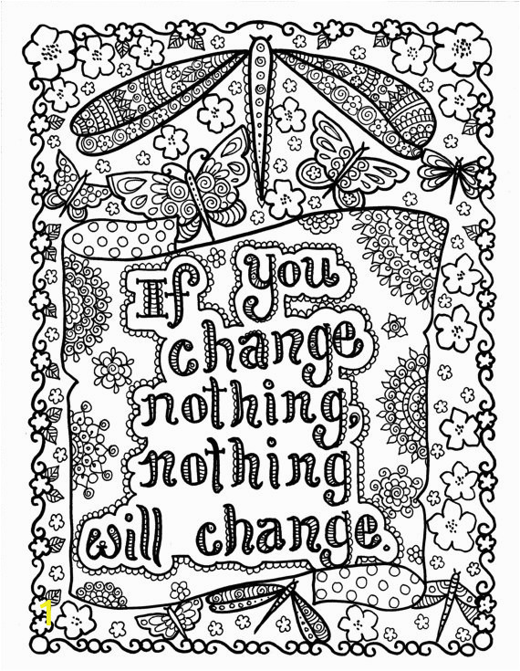 quotes adult coloring pages 89