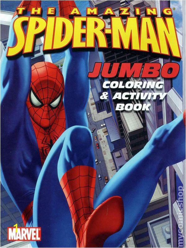 Spider Man Jumbo Coloring Book Ic Books January 2006
