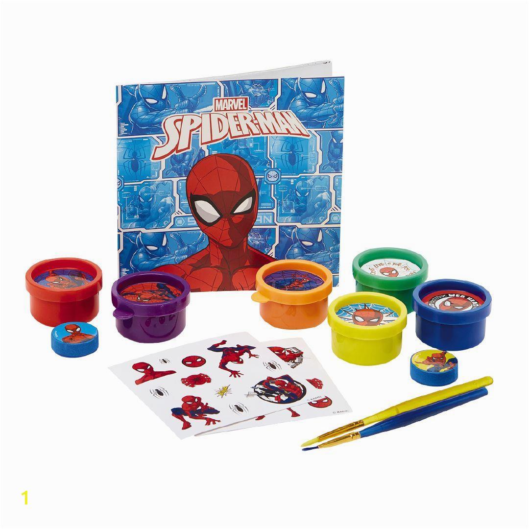 Spider Man Jumbo Coloring Book Spider Man Backpack Art Set