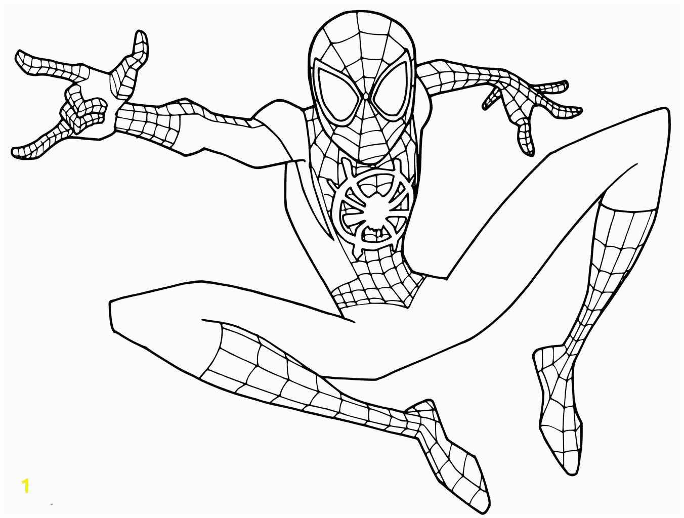 Spider Man 2018 Coloring Pages