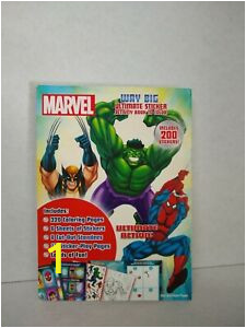 Spiderman Coloring and Activity Book Details About Marvel Way Big Sticker Activity Book Hulk Spider Giant Man Thor Iron Wolverine