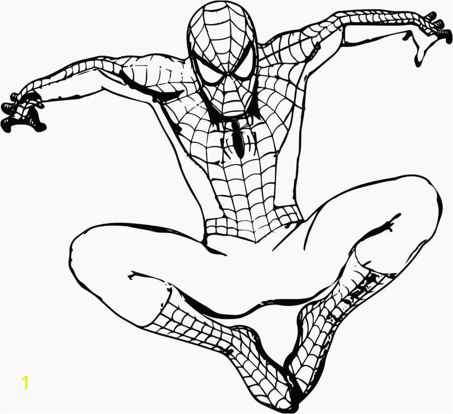 Spiderman Coloring Pages to Print Spiderman Einzigartig Fresh Free Printable Spiderman