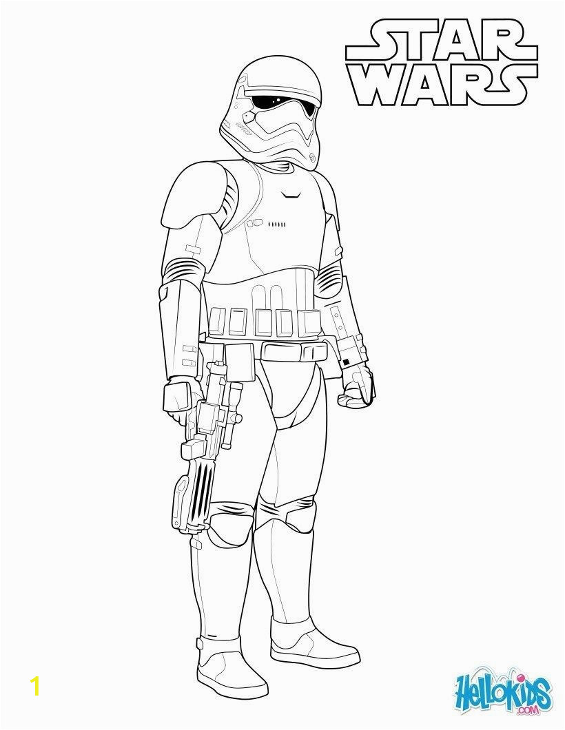 Star Wars Coloring Pages Disney Stormtrooper Coloring Page First order Stormtrooper Coloring
