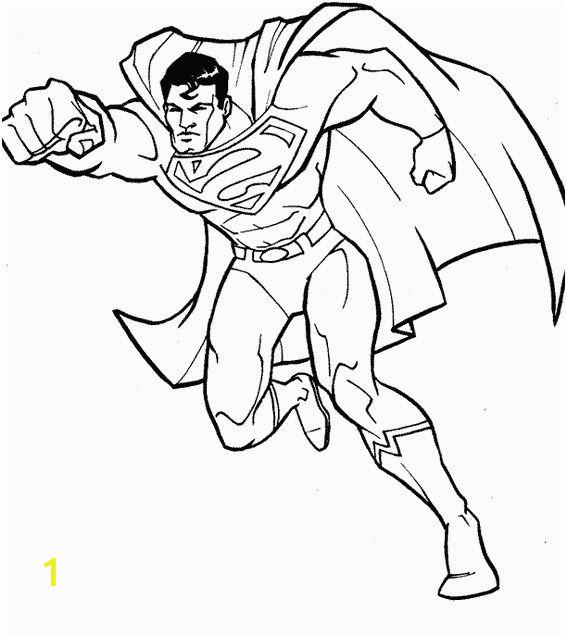 Superman Coloring Page for toddlers 12 Belle Coloriage De Superman Graph
