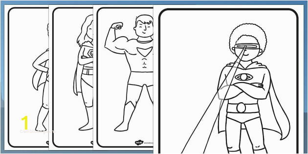 superman coloring pages unique free superhero colouring teaching resources of superman coloring pages