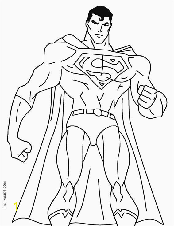 Superman Coloring Pages Printable