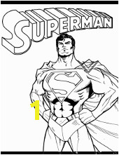 Superman ic book coloring page m